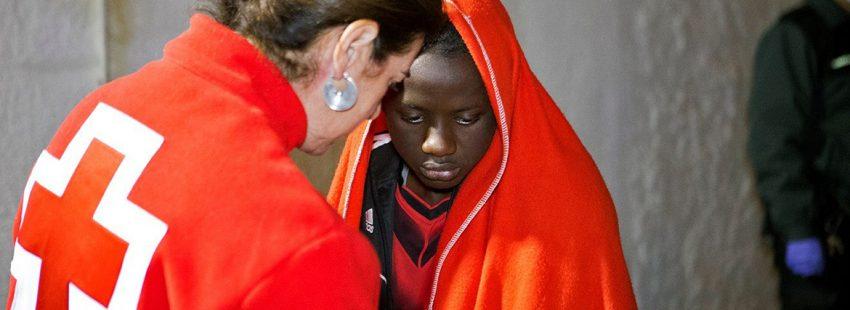 Migrante atendido en Motril tras llegar en patera