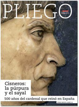 portada Pliego cardenal Cisneros 500 años 3057 noviembre 2017