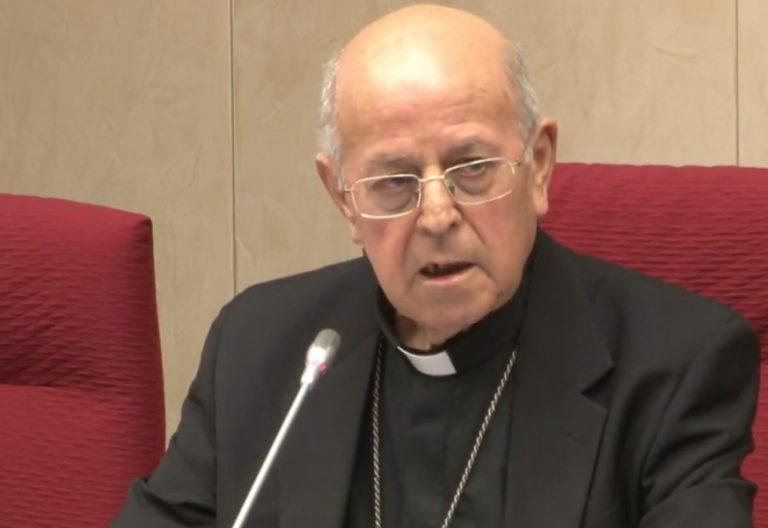 cardenal Ricardo Blázquez en la Asamblea Plenaria de la Conferencia Episcopal Española 20 noviembre 2017