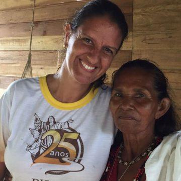 Verónica Rubí, misionera laica argentina vinculada al proyecto de los Maristas en la triple frontera de Brasil, Colombia y Perú