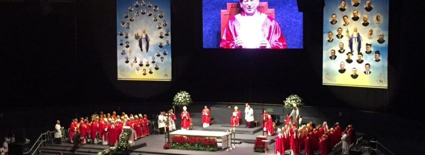 El cardenal Angelo Amato, en la beatificación de 60 mártires vicencianos de la Guerra Civil