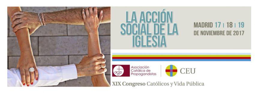 XIX Congreso Católicos y Vida Pública 2017 cartel