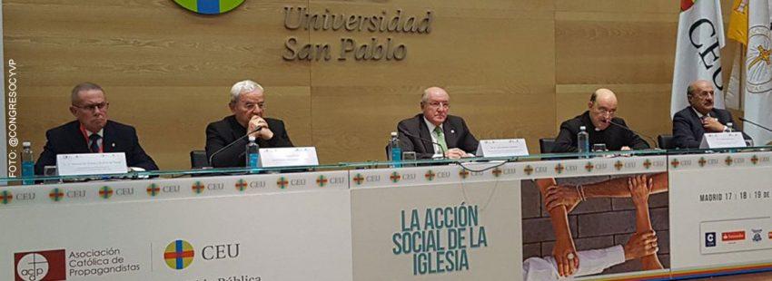 jornada inaugural 19 Congreso Católicos y Vida Pública Madrid noviembre 2017