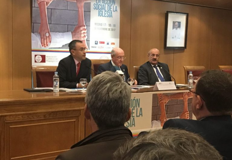 Fernando Giménez Barriocanal presenta el XIX Congreso Católicos y Vida Pública/VN