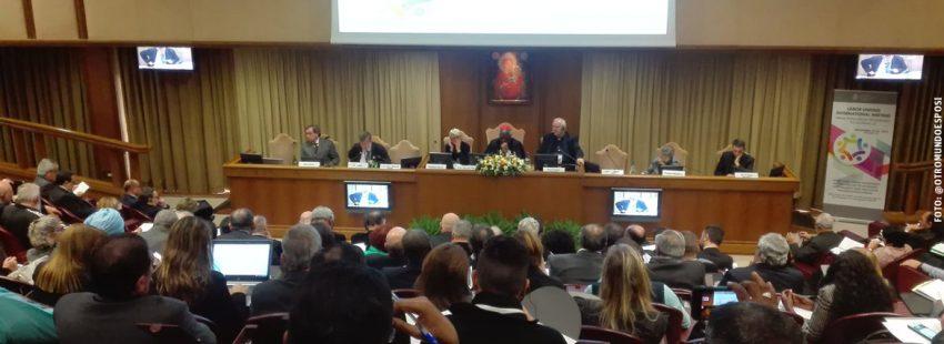 encuentro entre sindicatos e Iglesia en el Vaticano noviembre 2017