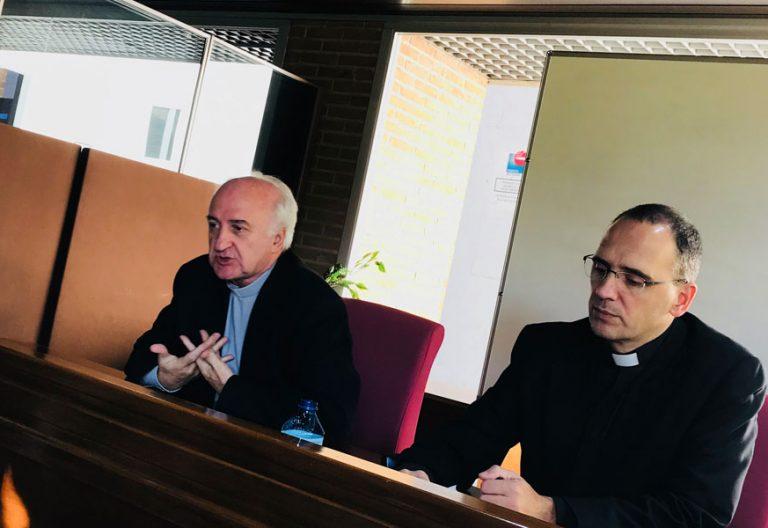 Fernando Fuentes, director de la Comisión de Pastoral Social de la Conferencia Episcopal Española CEE rueda de prensa Jornada Mundial Pobres