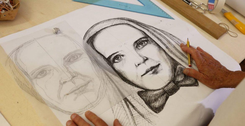 Retrato de San Francesca Cabrini, patrona de los migrantes/CNS