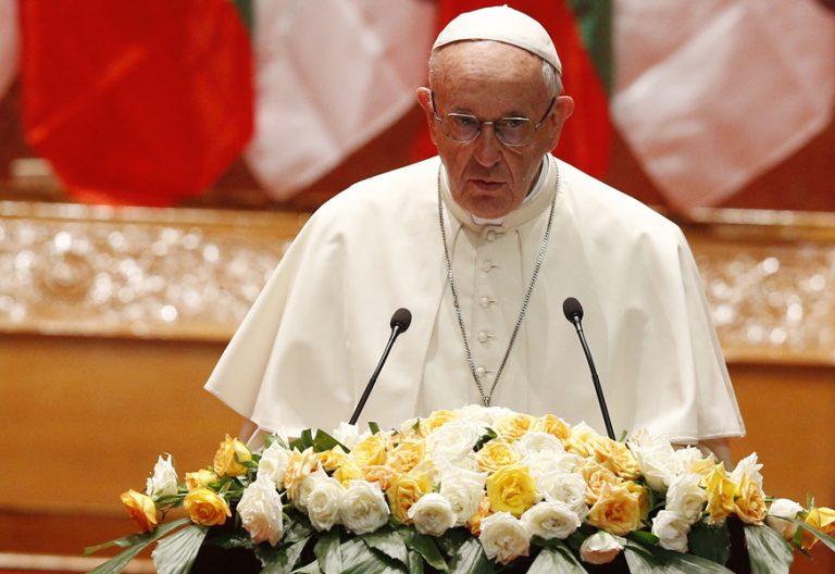 papa Francisco Myanmar encuentro con las autoridades discurso a sociedad civil 28 noviembre 2017