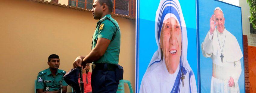 centro para enfermos mentales dedicado a santa Teresa en Dacca Bangladesh antes de la visita del papa Francisco noviembre 2017