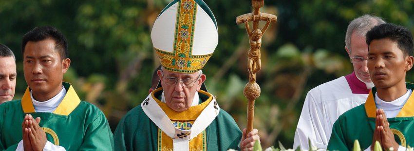 papa Francisco misa en Myanmar 29 noviembre 2017