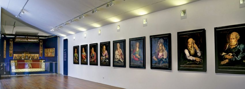 Museo Diocesano de Barbastro espacio expositivo