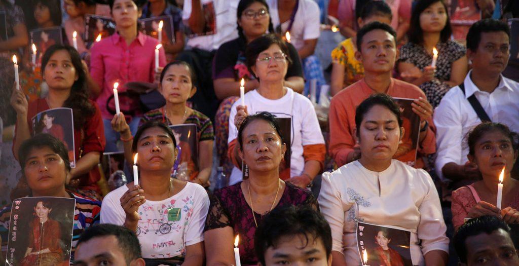 servicio interreligioso en Myanmar