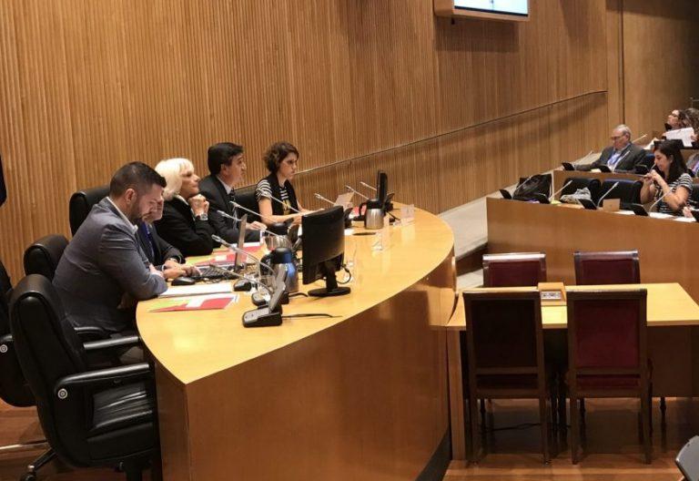 La diputada Teófila Martínez presenta el Pacto por la Educación en Equipo de la Fundación SM/VN