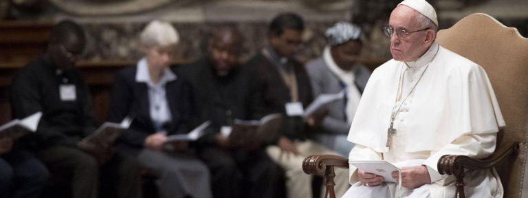papa Francisco preside oración por la paz en RD Congo y Sudán del Sur noviembre 2017
