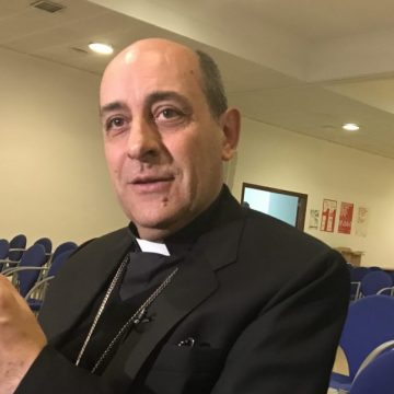 Víctor Manuel Fernández, durante la conferencia impartida en Madrid/VN