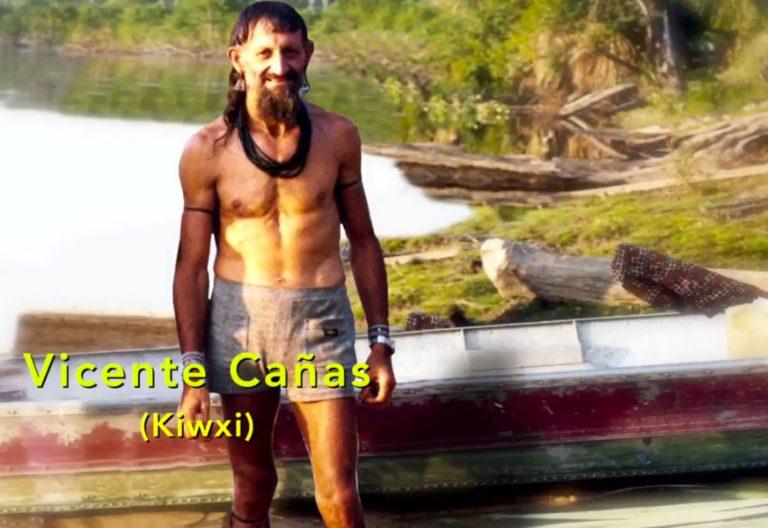 Vicente Cañas Kiwxí imagen del documental La vida por la Amazonía de la REPAM