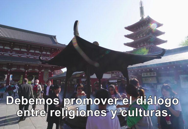 vídeo del papa Francisco de noviembre 2017 dedicado a los cristianos en Asia