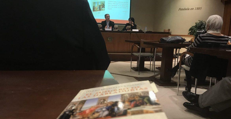 Dario Edoardo Viganó presenta su libro en Madrid