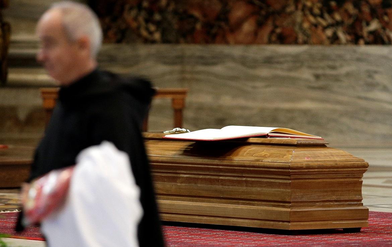 Diciembre 2017 funeral del cardenal Bernard Law, arzobispo emérito de Boston abusos Iglesia