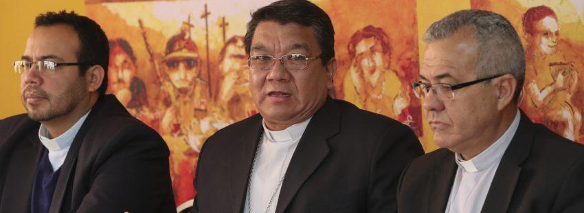 Aurelio Pesoa, secretario general Conferencia Episcopal Boliviana diciembre 2017