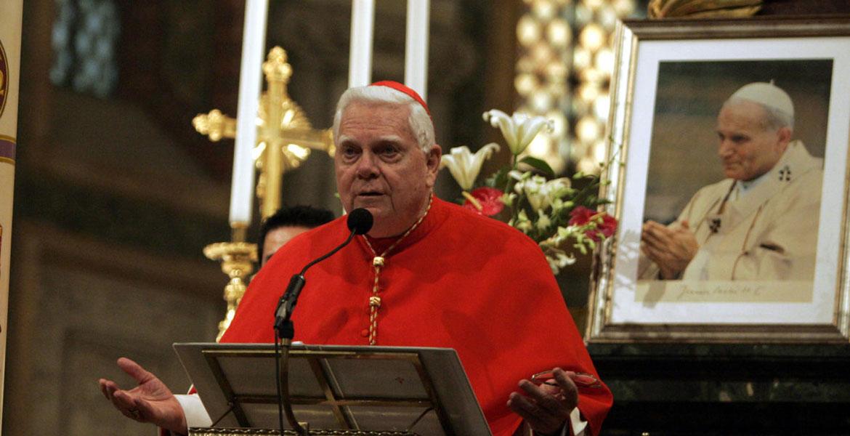 Cardenal Bernard Law, arzobispo emérito de Boston Abusos