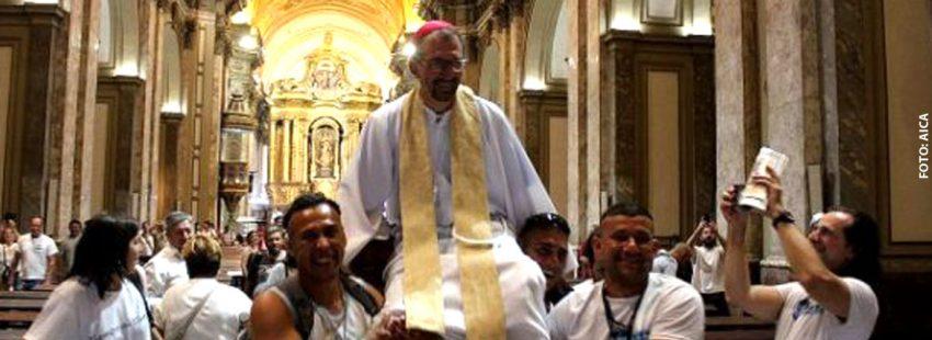 Gustavo Carrara, obispo Buenos Aires