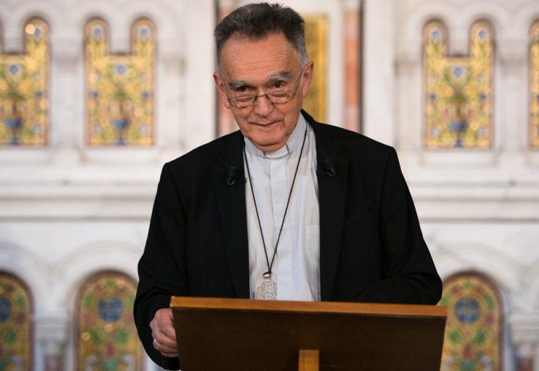 El arzobispo de Marsella y presidente de la Conferencia Episcopal Francesa, Georges Pontier