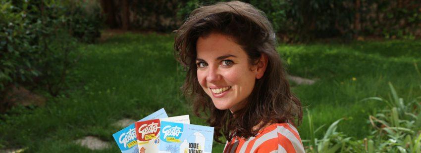 Miryam García, directora de Gesto revista OMP