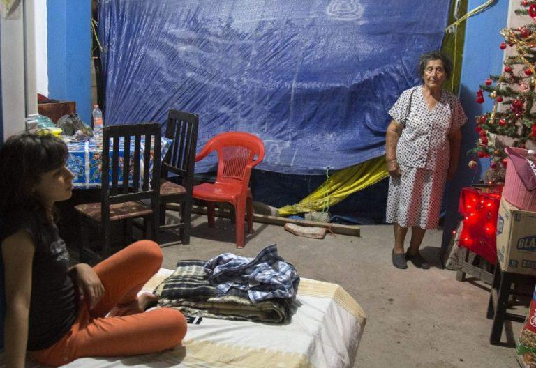 Navidad en Oaxaca, localidad castigada por el terremoto sufrido en México en 2017