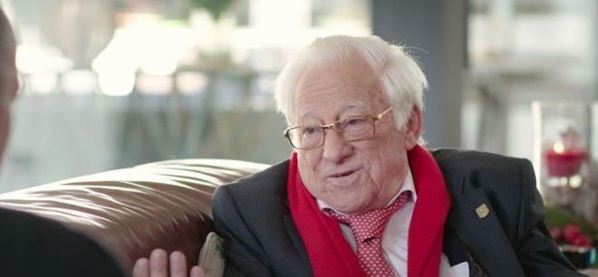 El Padre Ángel en el programa de Telecinco Mi casa es la tuya, presentado por Bertín Osborne