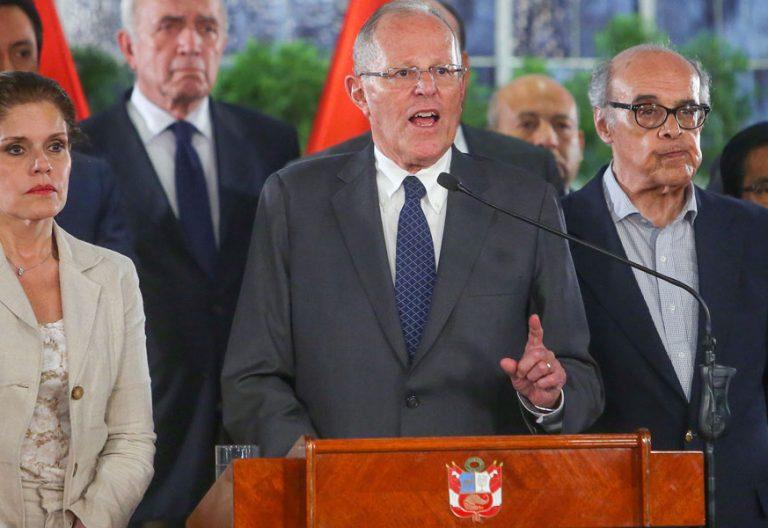 Pedro Pablo Kuczynski presidente de Perú acusado de corrupción
