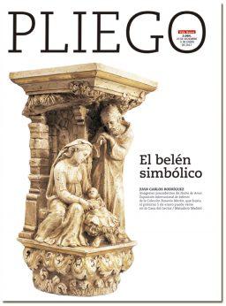 portada Pliego El belén simbólico 3064 Navidad 2017