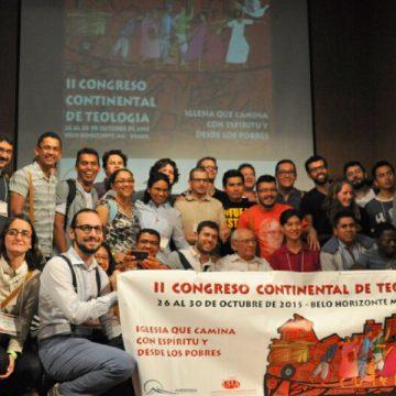 participantes en el II Congreso Continental de Teología Brasil 2015