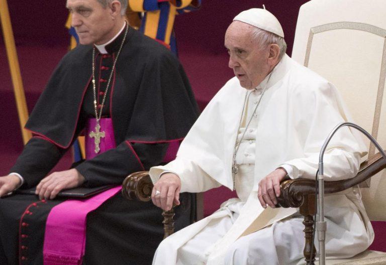 papa Francisco en la audiencia general miércoles 6 diciembre 2017