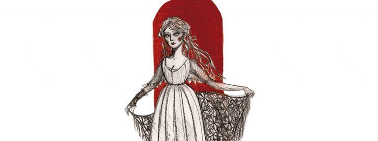 ilustración de una chica
