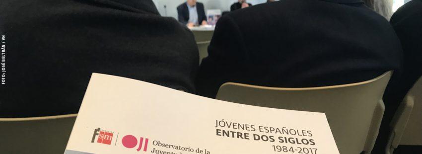 informe Jóvenes españoles entre dos siglos Fundación SM 2017 presentación en Madrid