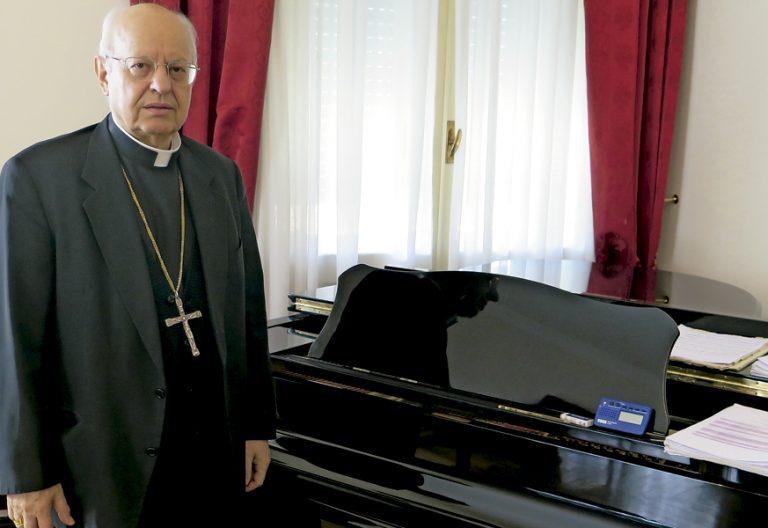 cardenal Lorenzo Baldisseri, secretario general del Sínodo de Obispos