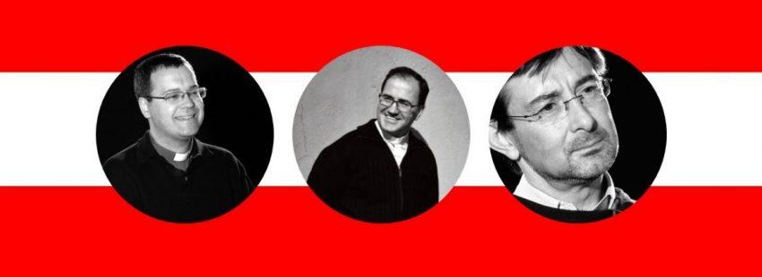 Los obispos auxiliares de Madrid, Jesús Vidal, Santos Montoya y José Cobo