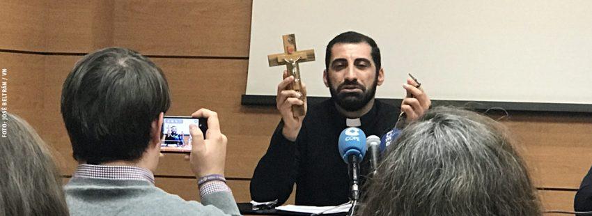 padre Naim Shoshandy, sacerdote de rito sirio-católico en Irak testimonio Ayuda a la Iglesia Necesitada 2017