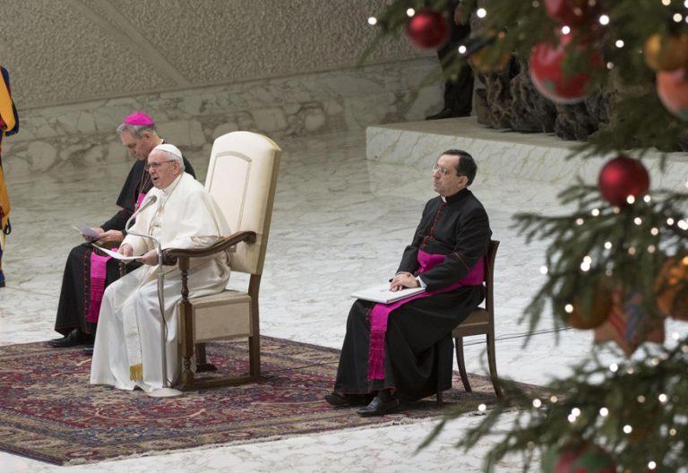 papa Francisco audiencia general miércoles 20 diciembre 2017