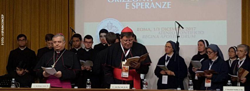 Congreso Internacional de Pastoral Vocacional y Vida Consagrada Roma diciembre 2017