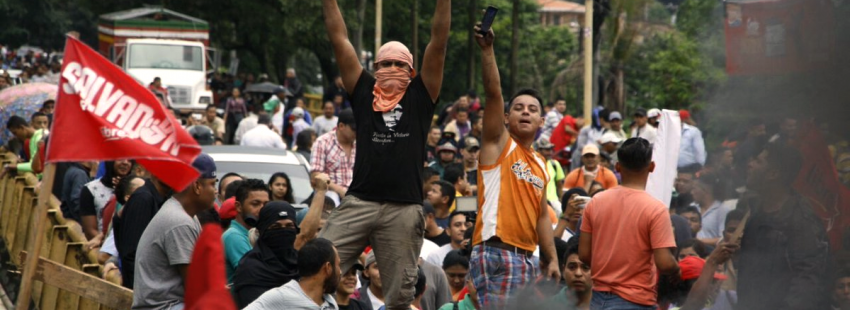 protestas en honduras en diciembre de 2017