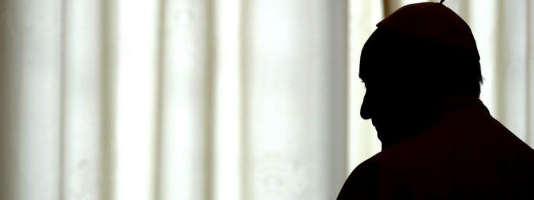 Papa Francisco tras una audiencia oscuridad 2016 marzo
