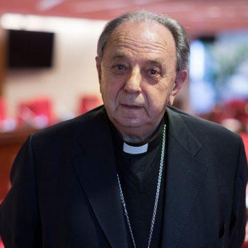 Juan María Uriarte, obispo emérito de San Sebastián 2015