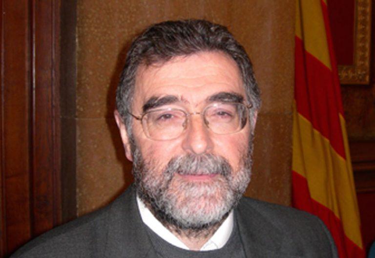El sacerdote Armand Puig, rector del Ateneu Universitari Sant Pacià, de Barcelona
