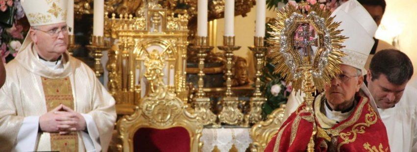 El cardenal Ricardo Blázquez clausura el Año Jubilar de Caravaca de la Cruz