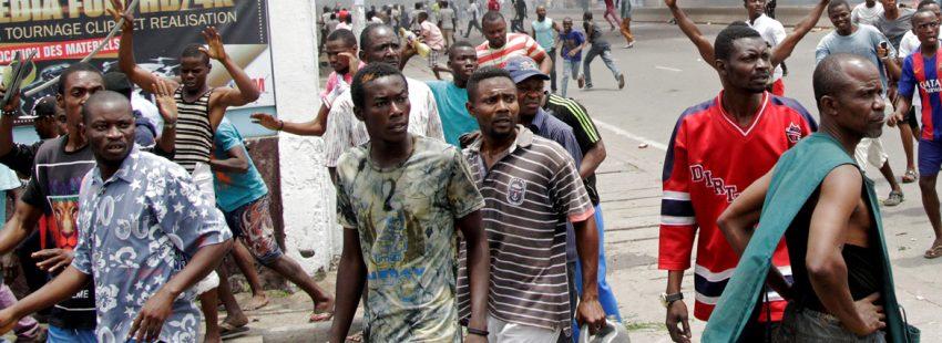 Protestas contra Kabila en Congo