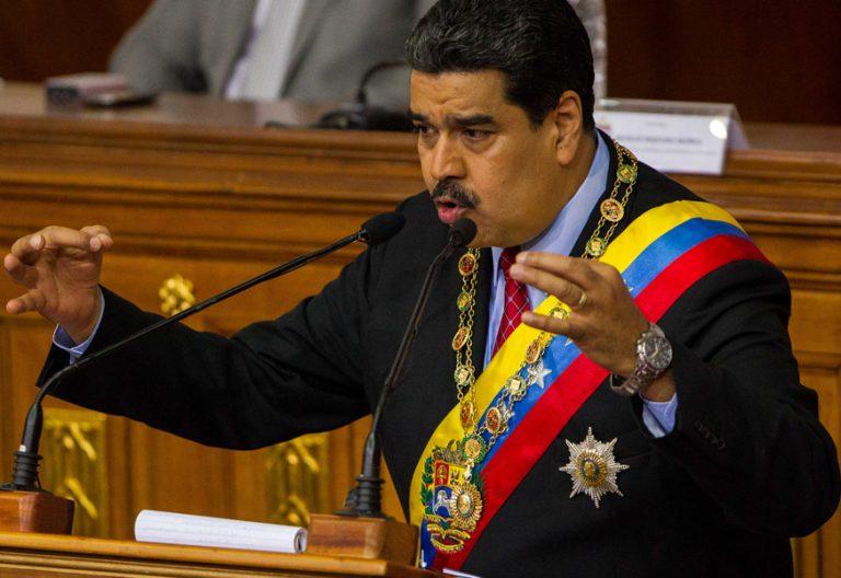 Nicolas Maduro presidente Venezuela acto en la Asamblea Nacional Constituyente enero 2018