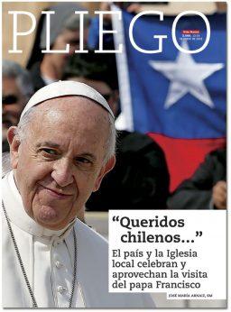 portada Pliego Previo visita papa Francisco Chile 3066 enero 2018