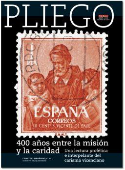 portada Pliego 400 años carisma vicenciano 3067 enero 2018